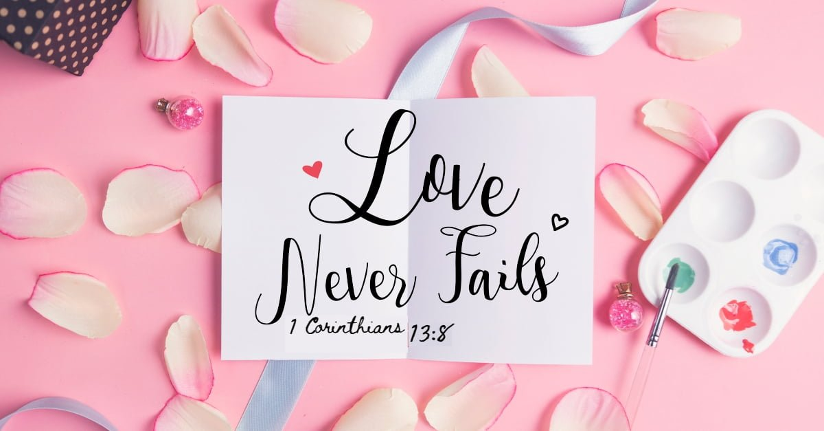 "O que significa ""Love Never Fails""?"